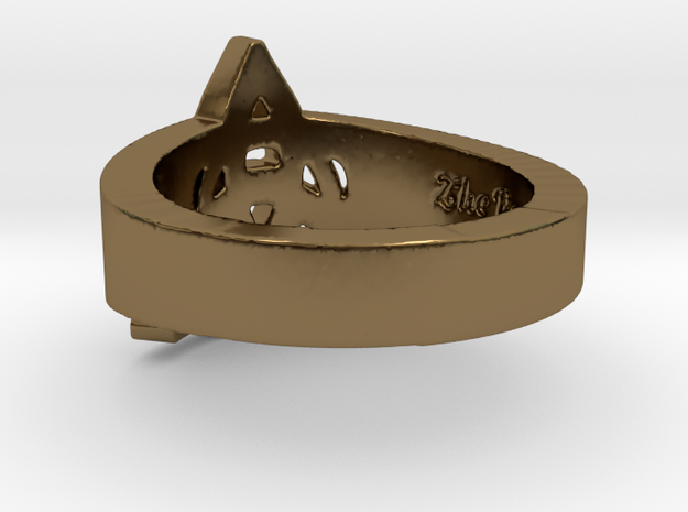 """""""Charmed"""" Inspired Ring - Size 6 Ring Size 6 3d printed"""