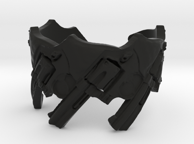 Model 5-357 Revolvers, Ring Size 10 3d printed