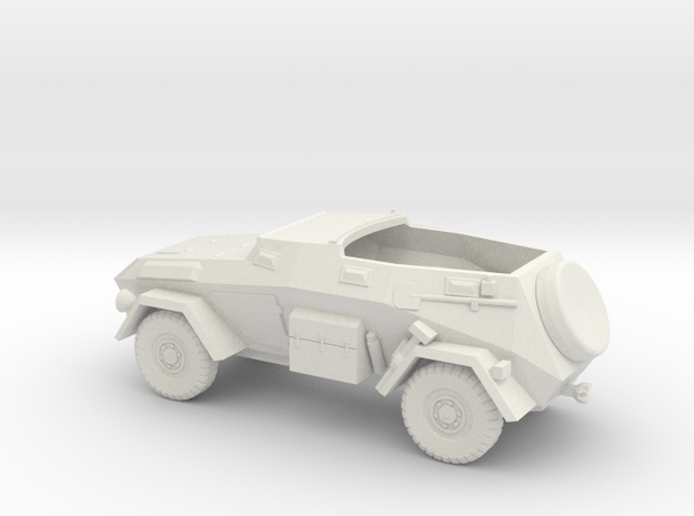 1/100 (15mm) Sdkfz 247 ausf b in White Natural Versatile Plastic