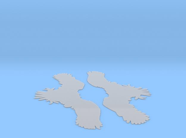 Mt Salus Eagle Outline 3d printed