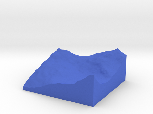 Terrafab generated model Fri Sep 27 2013 12:03:22  3d printed