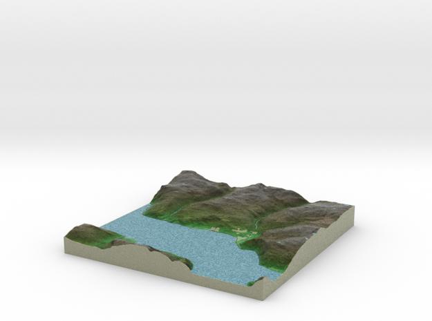 Terrafab generated model Fri Sep 27 2013 12:56:22 3d printed