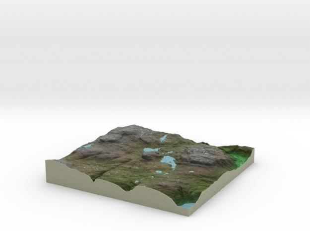 Terrafab generated model Fri Sep 27 2013 12:44:36 3d printed