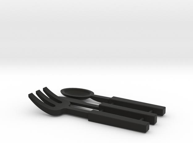 BJD Cutlery Display Set 3d printed