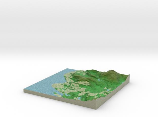 Terrafab generated model Fri Sep 27 2013 20:06:35 3d printed