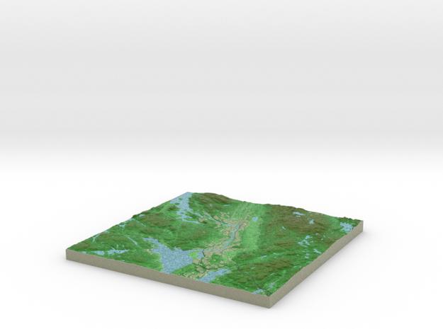 Terrafab generated model Fri Sep 27 2013 21:03:53 3d printed