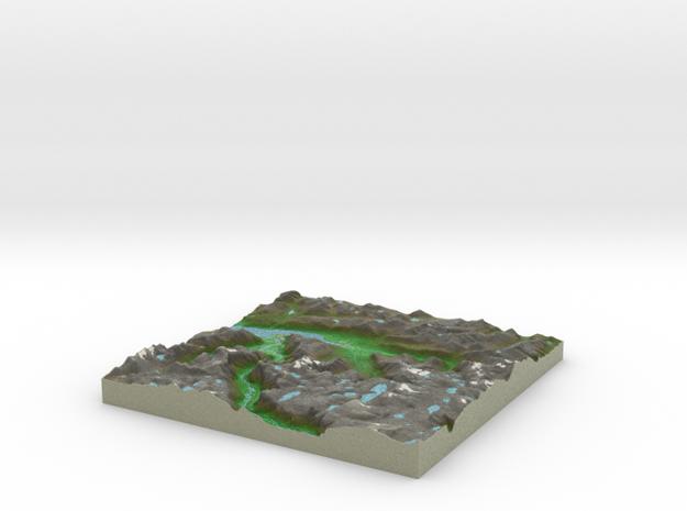 Terrafab generated model Fri Sep 27 2013 20:00:05 3d printed