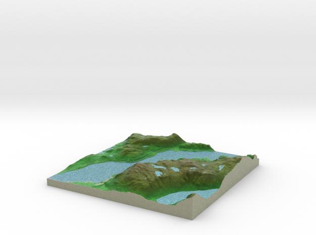 Terrafab generated model Sat Sep 28 2013 20:39:25  in Full Color Sandstone