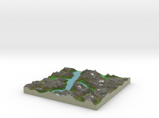 Terrafab generated model Tue Oct 01 2013 23:37:06 3d printed