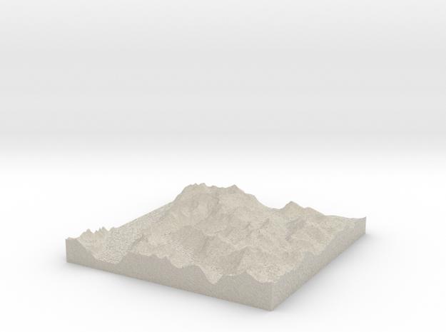 Terrafab generated model Wed Oct 02 2013 08:37:02  3d printed