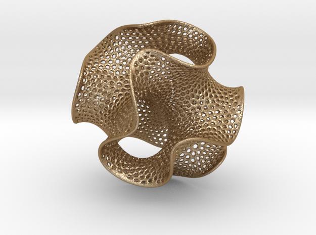 Sphero-gyroid 3d printed