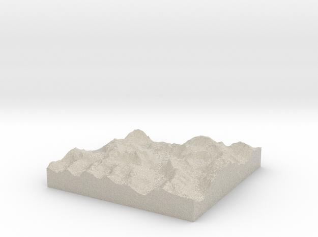 Terrafab generated model Wed Oct 02 2013 19:31:44  3d printed