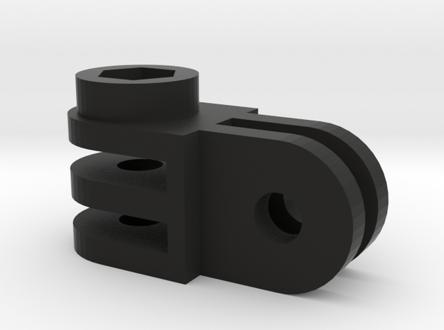 GoPro mounting part 90 degrees angle 3d printed