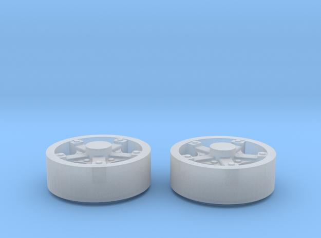 1:64 Front Dayton Wheels 3d printed