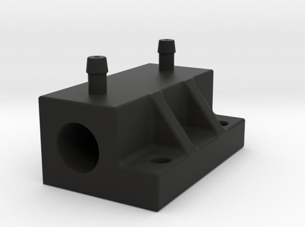 8 mm pitot flange dx in Black Natural Versatile Plastic