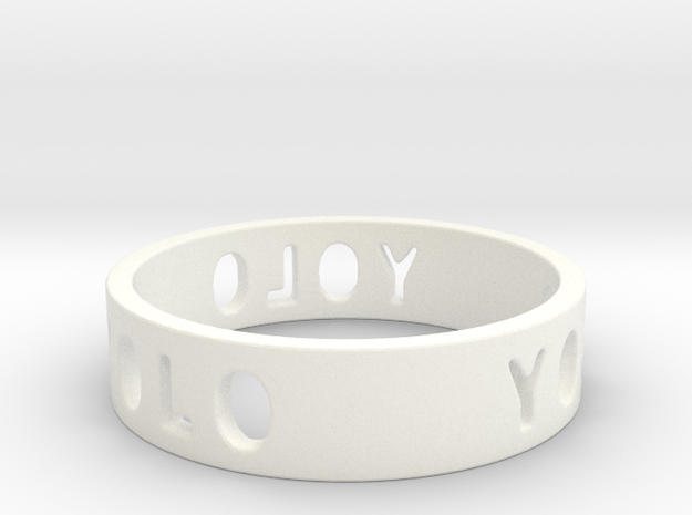 YOLO TYPE 2, Size 5.5 Ring Size 5.5 3d printed
