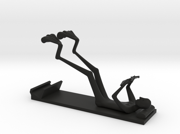The Reading Man (stand for Iphone 5) 3d printed