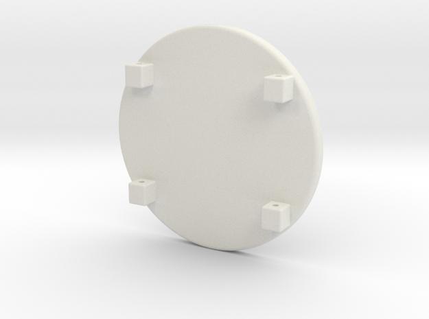Spartan Shield in White Strong & Flexible