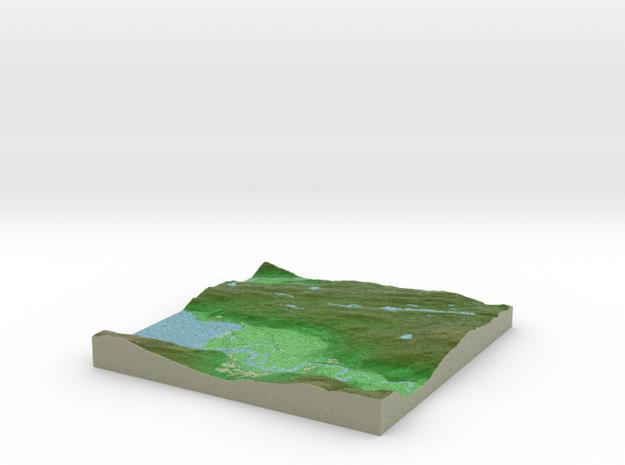 Terrafab generated model Tue Oct 08 2013 21:26:41  in Full Color Sandstone