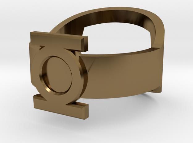 Green Lantern Ring - Bottle Opener band or regular 3d printed