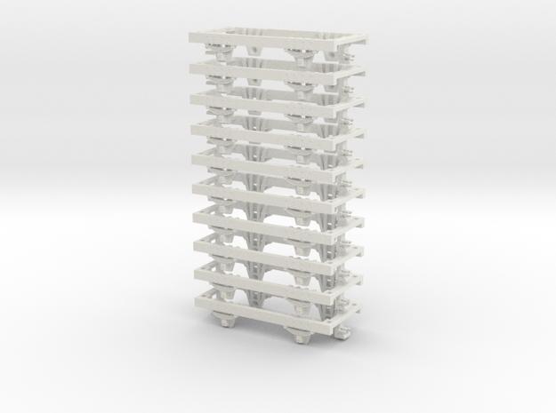 55n2 underframe medium nem in White Natural Versatile Plastic
