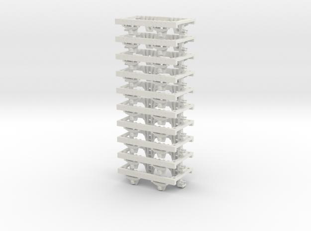 55n2 underframe short nem in White Natural Versatile Plastic