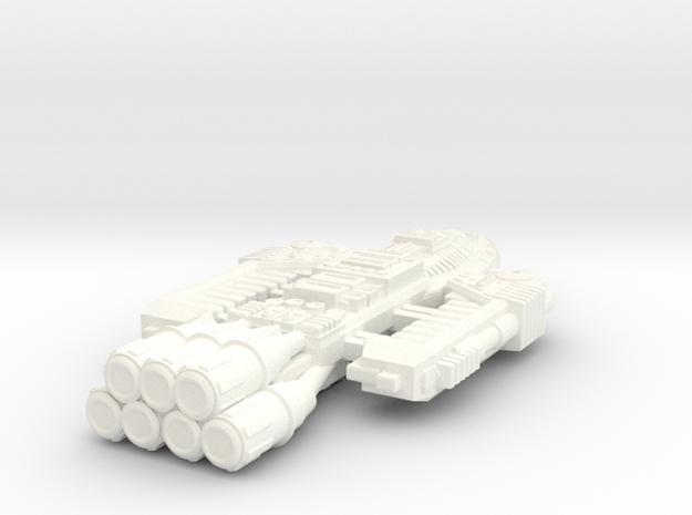 Battlestar Barricade 3d printed