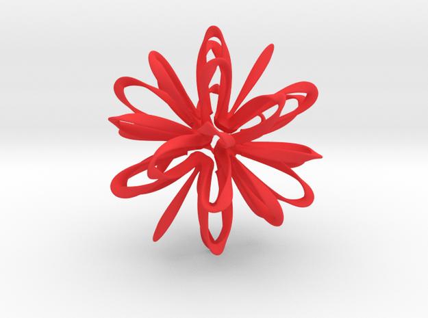 Icosahedron Loops - big 3d printed