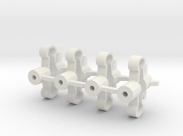 Spring-mounts 13mm 3d printed