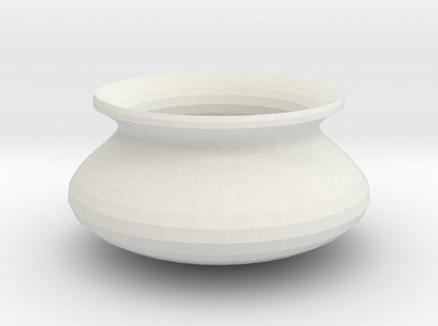 pot 1 in White Natural Versatile Plastic