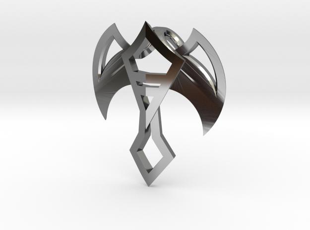 Winged Jewel 3d printed
