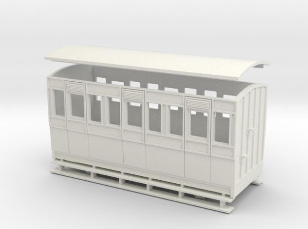 55n2 4w Long Coach in White Natural Versatile Plastic
