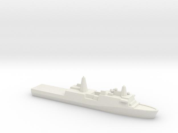 [USN] San Antonio Class 1:1800 in White Natural Versatile Plastic