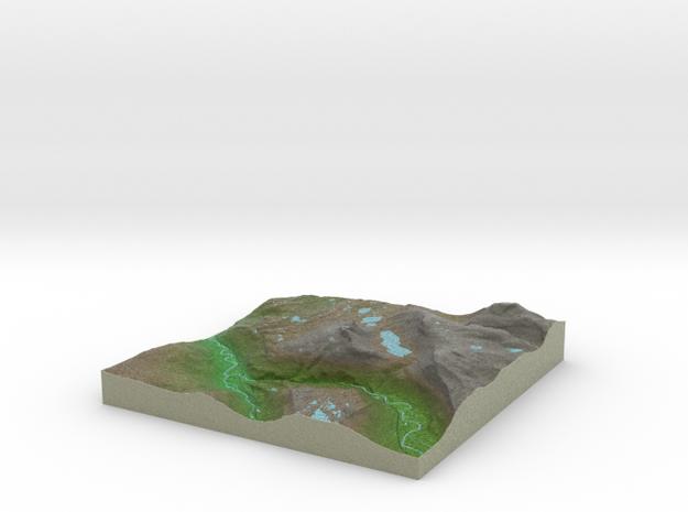 Terrafab generated model Wed Oct 09 2013 18:33:29 3d printed