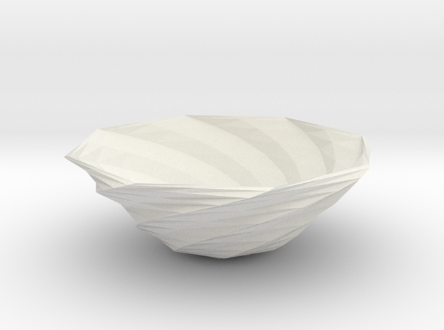 fruit bowl 2 in White Natural Versatile Plastic