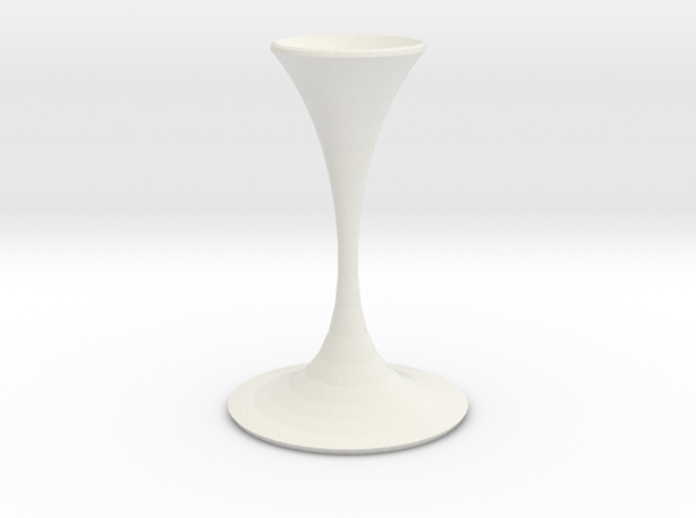 the shadow vase  in White Natural Versatile Plastic