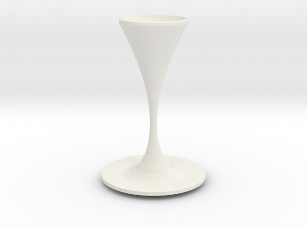 moriarty vase  in White Natural Versatile Plastic