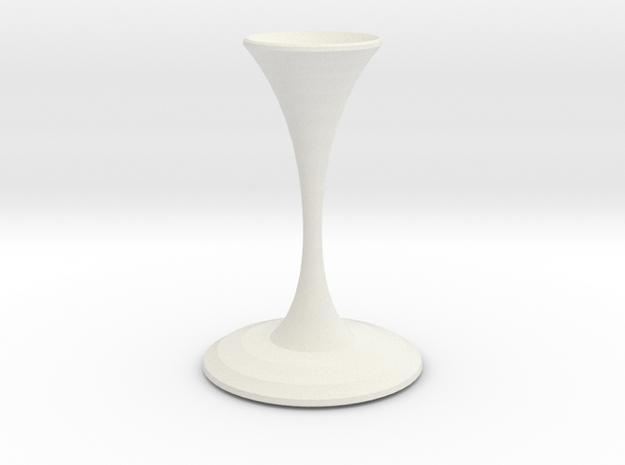 valentino vase  in White Natural Versatile Plastic