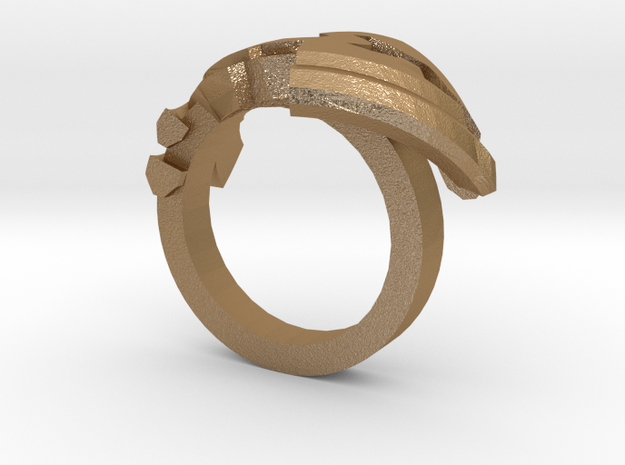 Avar Ring - us:6 fin:Ø16,5 3d printed
