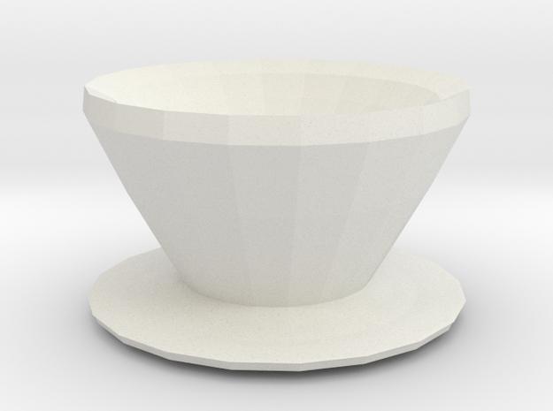gnome vase in White Natural Versatile Plastic
