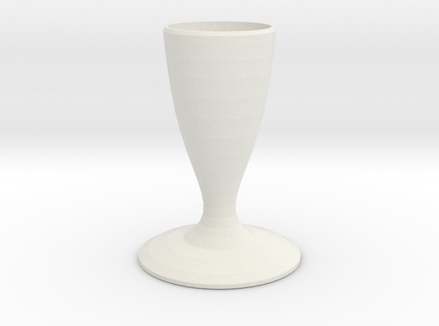 hefty smurf vase  in White Natural Versatile Plastic