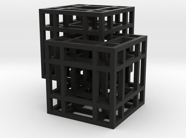 Complex Cube Chain 3d printed