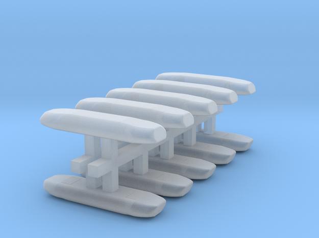 DBS 4000 10x12mm - Ecke und Balken aus einem Stück in Smooth Fine Detail Plastic