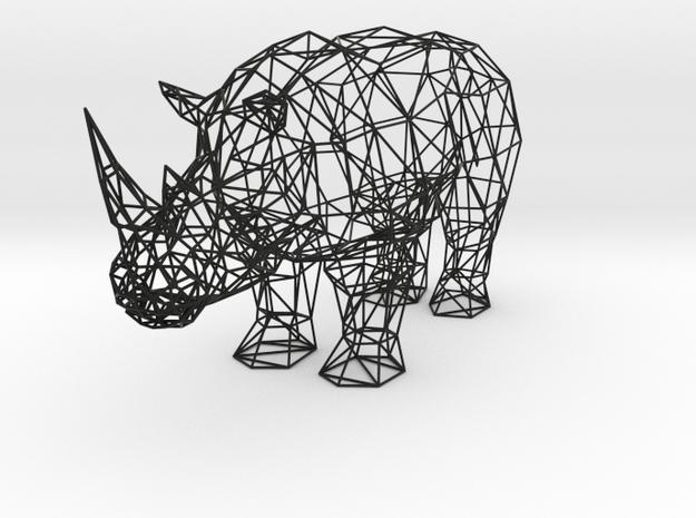 Digital Safari- Rhino (Large) 3d printed