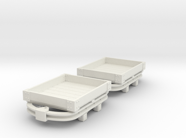 55n2 skip 1 plank in White Natural Versatile Plastic