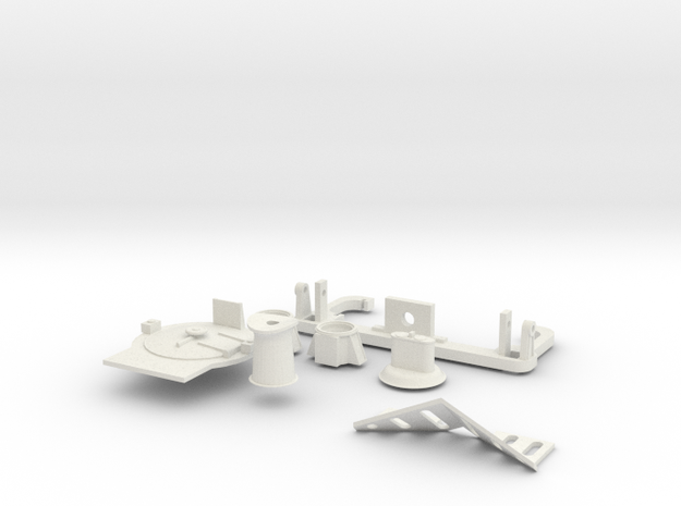 HO scale K class detail parts 3d printed