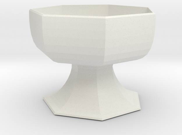 Planter 4 in White Strong & Flexible