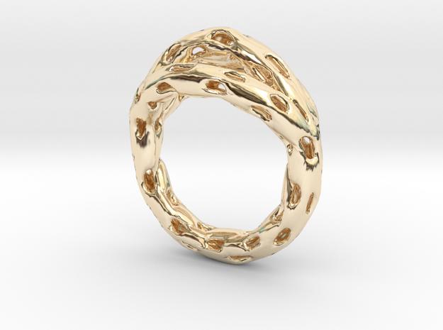 Goldmine Ring 3d printed