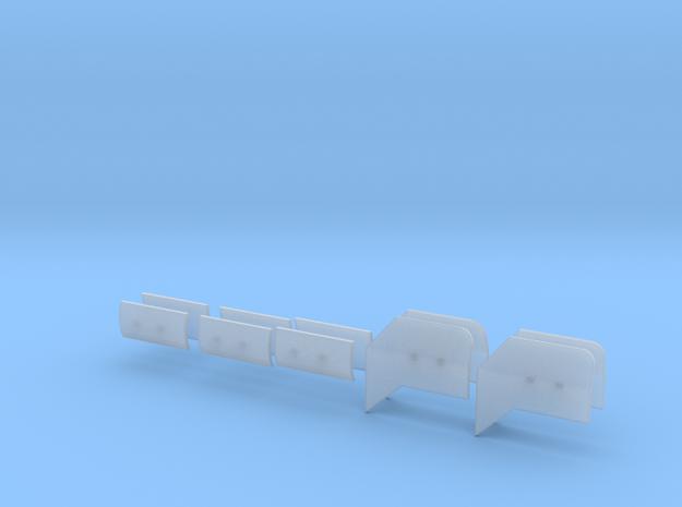 Windleitbleche 3d printed