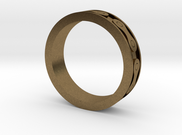 Bike Chain Ring Size8  3d printed